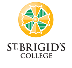 St Brigid's logo and IB certification
